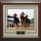 Triple Crown Winner Affirmed 8x10 Photo Matted and Framed