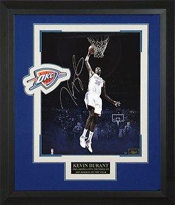 Kevin Durant Signed Collage Framed