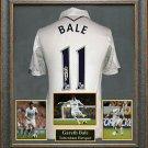 Gareth Bale Autographed Jersey Framed