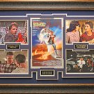 Back To The Future Signed Photo Framed