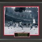 Michael Jordan Autographed Photo Framed