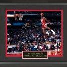 Michael Jordan Signed Photo Framed