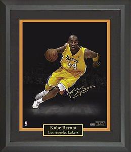 Kobe Bryant Signed Photo Framed