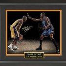 Kobe Bryant Autographed Photo Framed