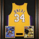 Shaquille O'Neal Autographed Jersey Framed