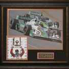 Tony Kanaan Autographed Framed Display