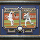 David Price Autographed Baseball Framed