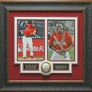 David Ortiz Autographed Home Run Derby Baseball Framed