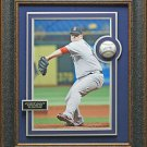 Andrew Bailey Signed baseball Collage Framed