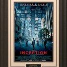 Inception 11x17 Movie Poster Framed