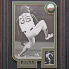 Vida Blue Signed Baseball Display Framed
