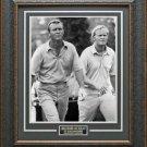 Jack Nicklaus & Arnold Palmer Photo Framed