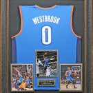 Russell Westbrook Autographed Jersey Framed