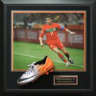Cristiano Ronaldo Signed Nike Mecurial Cleat Display.