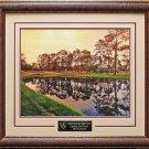 Augusta National Golf Club Hole 16 Framed Photo