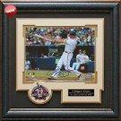 Chipper Jones Autographed Atlanta Braves Photo Framed