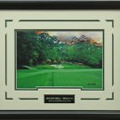Augusta Golf Club Hole 12 Steve Heit Photo Framed
