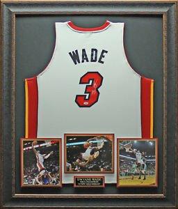 Dwyane Wade Signed Miami Heat Jersey