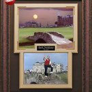 Jack Nicklaus Signed 2005 Open Farewell Framed Photo
