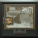 Willie Mays Signed NY Giants Photo THE CATCH Display