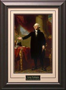 George Washington Portrait Photo Framed