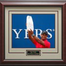 Tiger Woods Wins 2013 Players Champion Framed Photo