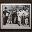 Arnold Palmer with Jackie Gleason 16x20 Photo Framed