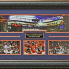 Peyton Manning Mile High Stadium Photo Display.