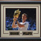 Andy Murray Wins Wimbledon Framed Photo