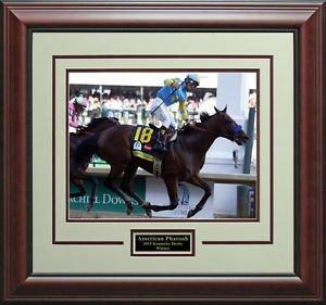 American Pharoah Wins 2015 Kentucky Derby Photo Display.