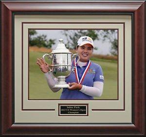 Inbee Park Wins US Womens Open Champion Framed Photo