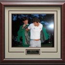 Adam Scott Green Jacket Ceremony Photo Framed