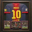 Lionel Messi Autographed Barcelona Shirt