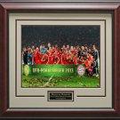 FC Bayern Munich Pokal Trophy Framed Photo
