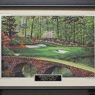 Augusta National Golf Club Hole #12 Framed Photo