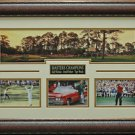 Masters Hole # 16 Photo Collage Framed