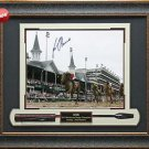 ORB 2013 Kentucky Derby Champion Autographed Photo Framed