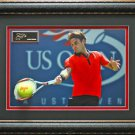 Roger Federer US Open Photo & Replica Signature Framed