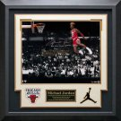 Michael Jordan Signed 1988 Gatorade Slam Photo Display LE of 88.