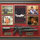Al Pacino Autographed Scarface Poster Display.