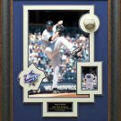 Andy Pettitte Signed Baseball Framed Display.