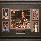 Michael Jordan Five Photo Collage Framed