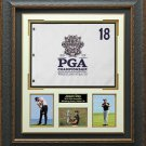 Jason Day 2015 PGA Championship Flag Collage Display.