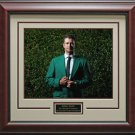 Adam Scott Masters Green Jacket Photo Framed