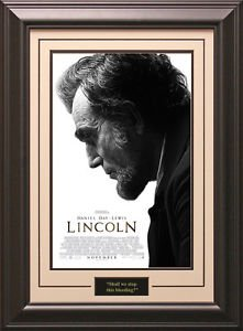 Lincoln Framed Movie Poster