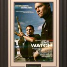 End Of Watch Mini Movie Poster Framed