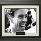 """""""Jim"""" Clark Photo Matted and Framed"""