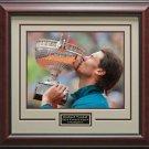 Rafael Nadal Wins 2013 French Open Framed Photo