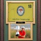 Rory McIlroy Signed 2012 PGA Flag Framed