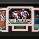 Joe Montana Autographed Photo Framed